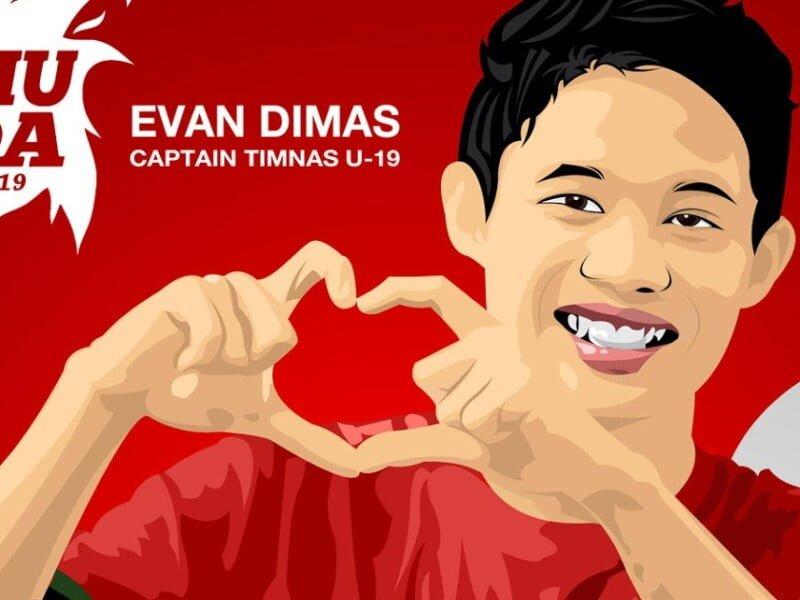 021. Evan Dimas dan Sertifikat Halal Menpora tidak ada sumber min