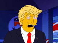 Donuld Trump the Simpsons bustle.com  min