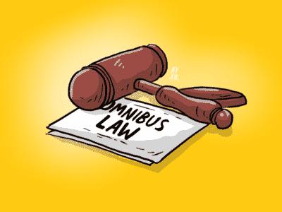 Cibiran RUU Cipta Kerja UU Cipta Kerja Fix