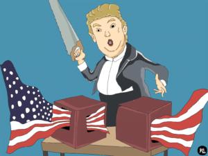 Trump, si Anak Bandel Demokrasi