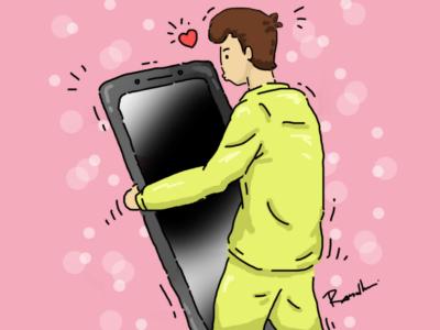 patah hati dan rasa kesepian karena aplikasi chatous